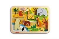 JANOD - JURATOYS - Chunky Puzzle Zoo
