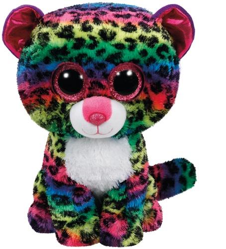 JANOD - JURATOYS - Peluche Beanie Boos Dotty le léopard 23 cm - TY