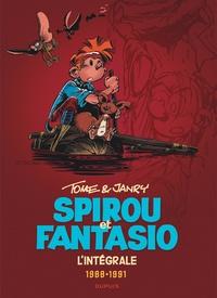 Janry et  Tome - Spirou et Fantasio Intégrale Tome 15 : 1988-1991 - La Frousse aux trousses ; La vallée des bannis ; Spirou et Fantasio à Moscou ; Vito la déveine.