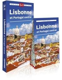 Janusz Andrasz - Lisbonne et Portugal central - Guide + atlas + carte 1/17 500.