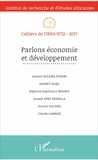 Janvier Egudra Nyadri et Kodjo Akakpo - Cahiers de l'IREA N° 12/2017 : Parlons économie et développement.