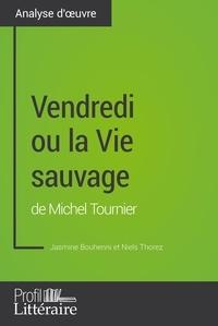 Jasmine Bouhenni et  Niels Thorez - Vendredi ou la Vie sauvage de Michel Tournier (Analyse approfondie) - Approfondissez votre lecture des romans classiques et modernes avec Profil-Litteraire.fr.
