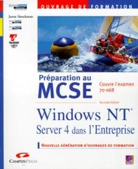 PREPARATION AU MCSE WINDOWS NT SERVER 4 ENTREPRISE. Examen 70-068, 2ème édition avec CD-Rom.pdf