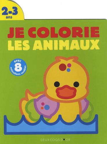 Javier Inaraja - Je colorie les animaux Le canard - 2/3 Ans.