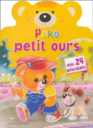 Javier Inaraja - Peko petit ours - Avec  24 autocollants.