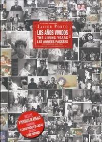 Javier Porto - Les años vividos, Fotografias  1980-1990 - Coffret en 2 volumes avec 8 cartes postales.