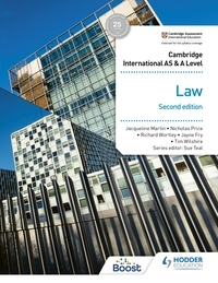 Jayne Fry et Tim Wilshire - Cambridge International AS and A Level Law Second Edition.