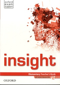 Jayne Wildman - Insight - Elementary Teacher's Book. 1 DVD