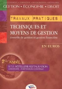 JC. OULÉ - Techniques et moyens de gestion BTS Hôtellerie-Restauration 2ème année.