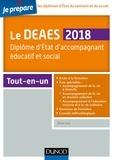 Je prépare le DEAES 2018 - Diplôme d'Etat d'accompagnement éducatif et social - Tout-en-un.