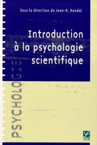 Jean-Adolphe Rondal et  Collectif - Introduction à la psychologie scientifique.