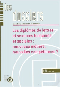 Jean-Alain Héraud - Les Diplômés de lettres et sciences humaines et sociales : nouveaux métiers, nouvelles compétences?.