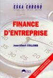 Jean-Albert Collomb - Finance d'entreprise.