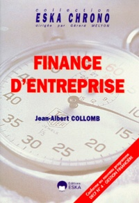 Jean-Albert Collomb - Finance d'entreprise.