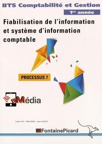 Deedr.fr Fiabilisation de l'information et système d'information comptable Processus 7 BTS Comptabilité et Gestion 1re année Image