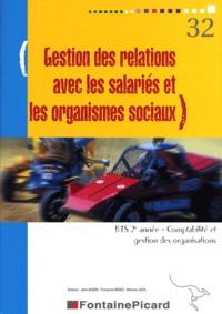Jean Aldon - Gestion des relations avec les salariés et les organismes sociaux BTS CGO 2e année - Avec livret informatique CIEL.