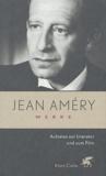 Jean Améry - Aufsätze zur Literatur und zum Film.