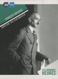 Jean Amrouche - François Mauriac - 3 CD audio.