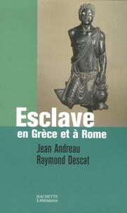 Jean Andreau et Raymond Descat - Esclave en Grèce et à Rome.