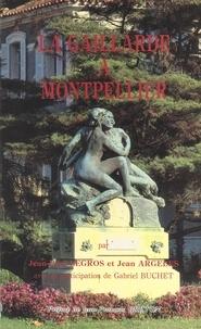 Jean Argelès et Jean-Paul Legros - La Gaillarde à Montpellier.