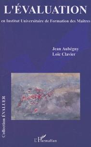 Jean Aubégny et Loïc Clavier - L'évolution en institut Universitaire de Formation des Maîtres.