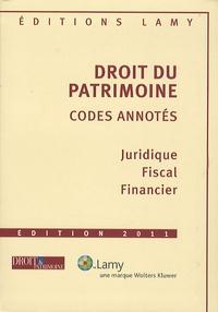 Jean Aulagnier - Droit du patrimoine - Codes annotés.