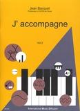 Jean Bacquet - J'accompagne - Volume 2.