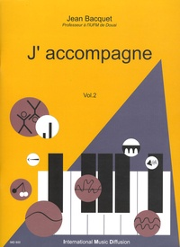 Jean Bacquet - J'accompagne - Volume 2.