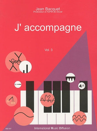 Jean Bacquet - J'accompagne - Volume 3.