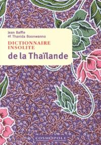 Galabria.be Dictionnaire insolite de la Thaïlande Image