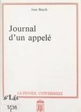 Jean Bajcik - Journal d'un appelé.