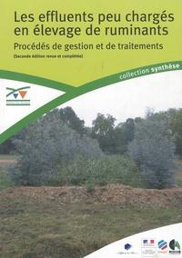 Jean-Baptiste Dollé et Philippe Dumonthier - Les effluents peu chargés en élevage de ruminants.