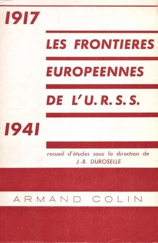 Les frontières européennes de l'URSS, 1917-1941