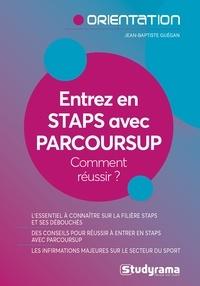 Jean-Baptiste Guégan - Entrez en STAPS avec Parcoursup.