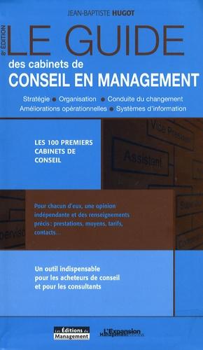Jean-Baptiste Hugot - Guide des cabinets de conseil en management.