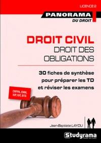 Jean-Baptiste Laydu - Droit civil, droit des obligations.