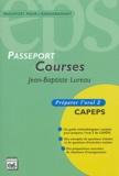 Jean-Baptiste Lureau - Courses - Préparer l'oral 2 CAPEPS.