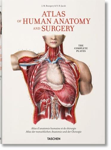 Jean-Baptiste-Marc Bourgery et Nicolas-Henri Jacob - Atlas d'anatomie humaine et de chirurgie.
