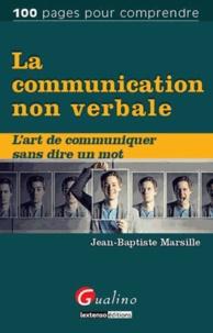 Jean-Baptiste Marsille - La communication non verbale.
