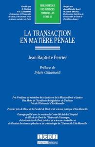 La transaction en matière pénale.pdf