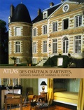 Jean-Baptiste Rendu - Atlas des châteaux d'artistes, grandes dames et hommes illustres.