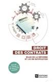 Jean-Baptiste Seube et Marie-Pierre Dumont-Lefrand - Droit des contrats - Bilan de la réforme et loi de ratification.
