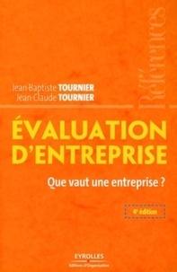 Evaluation d'entreprise- Que vaut une entreprise ? - Jean-Baptiste Tournier |