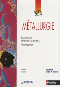 Lemememonde.fr Métallurgie - Elaboration, structures-propriétés, normalisation Image
