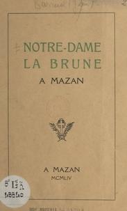 Jean Barruol - Notre-Dame La Brune à Mazan.