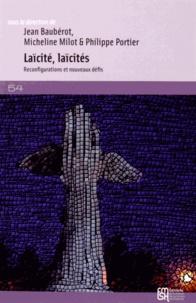 Jean Baubérot et Micheline Milot - Laïcité, laïcités - Reconfigurations et nouveaux défis (Afrique, Amériques, Europe, Japon, Pays arabes).