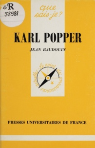 Jean Baudouin - Karl Popper.
