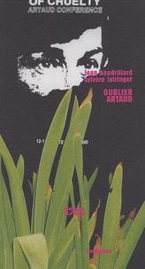 Jean Baudrillard et Sylvère Lotringer - Oublier Artaud.