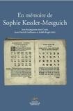 Jean Baumgarten et José Costa - En mémoire de Sophie Kessler-Mesguich.