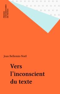 Jean Bellemin-Noël - .